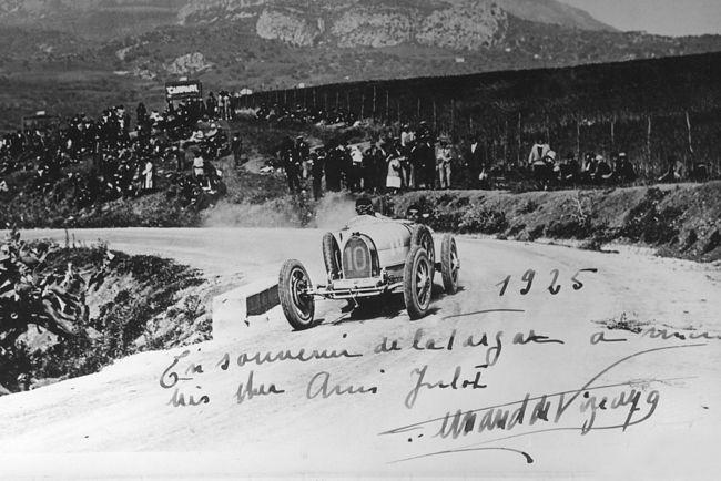 Bugatti fête les 90 ans de sa 5ème victoire à la Targa Florio