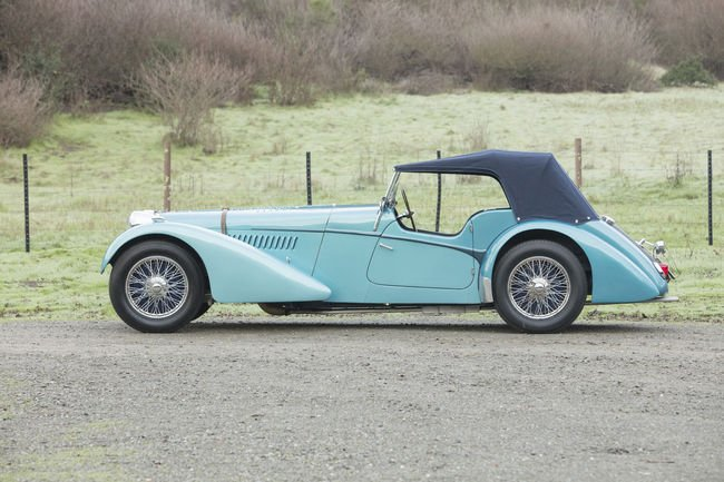 Une rare Bugatti Type 57 SC aux enchères Bonhams