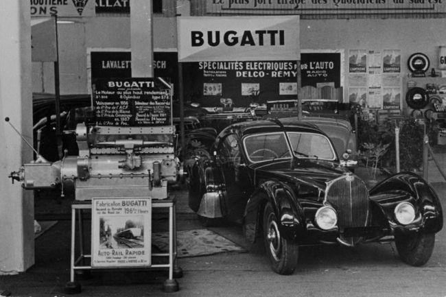 Bugatti fête les 80 ans de la Type 57 SC Atlantic