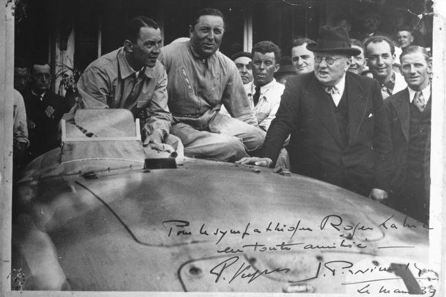 Il y a 80 ans, Bugatti s'imposait au Mans