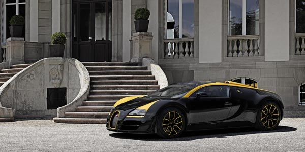 "Unique : Bugatti Veyron 16.4 ""One of One"""