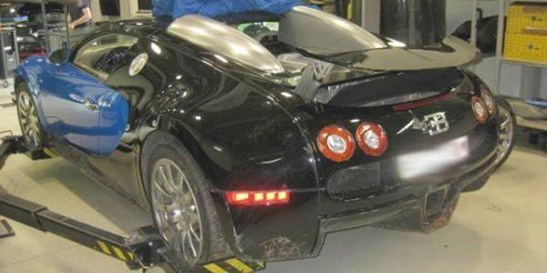 Une Bugatti Veyron vendue 210 000 euros
