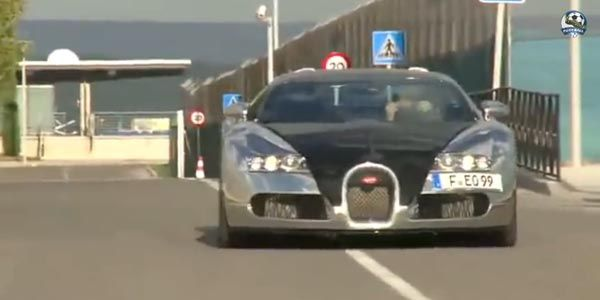 Karim Benzema s'offre une Bugatti Veyron
