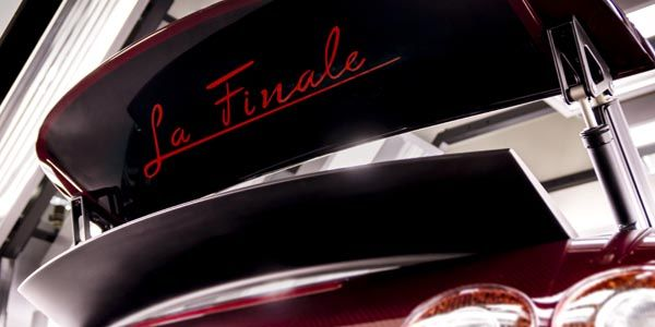 La 450ème Bugatti Veyron porte un nom : La Finale