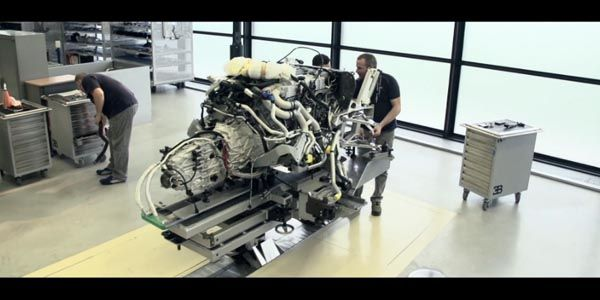 Bugatti dévoile les dessous de la Veyron La Finale