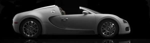 La Bugatti Veyron à l'air libre