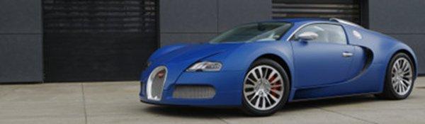 Genève : Bugatti Veyron Centenaire