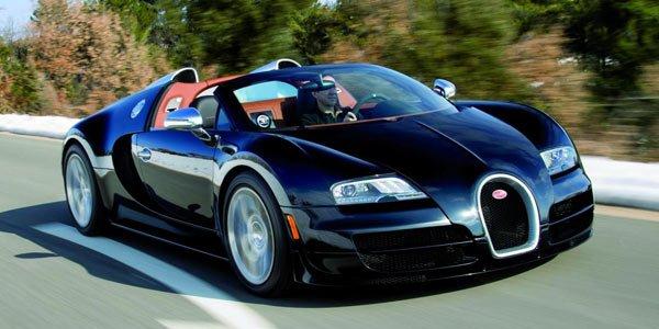 La Bugatti Veyron Vitesse en vidéo