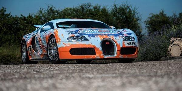 Bugatti Veyron : comme les Art Cars