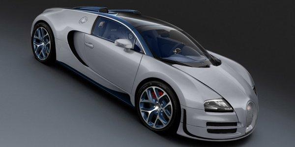 Bugatti Veyron Grand Sport Rafale