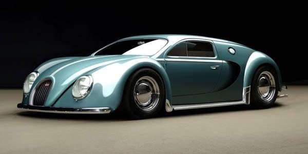 Une Veyron qui se voulait Coccinelle