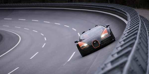 Bugatti Veyron Vitesse : 408,84 km/h !