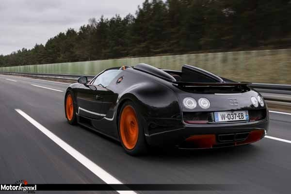 bugatti veyron vitesse : 408,84 km/h ! - actualité automobile
