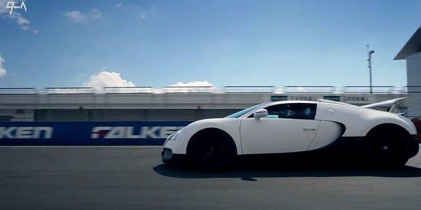 Seiji Ara en Bugatti Veyron Grand Sport