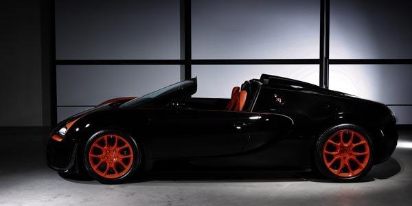 Bugatti célèbre le record de sa Veyron