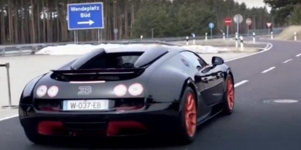 La vidéo du record de la Veyron