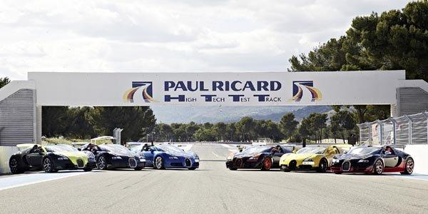 Bugatti Driving Experience au Castellet