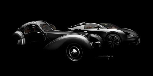 Une Veyron en hommage à Jean Bugatti