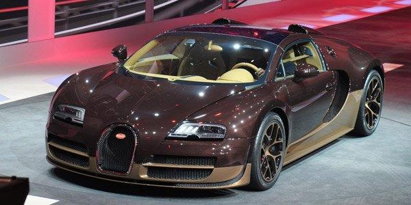 Genève 2014 : Bugatti Veyron Rembrandt
