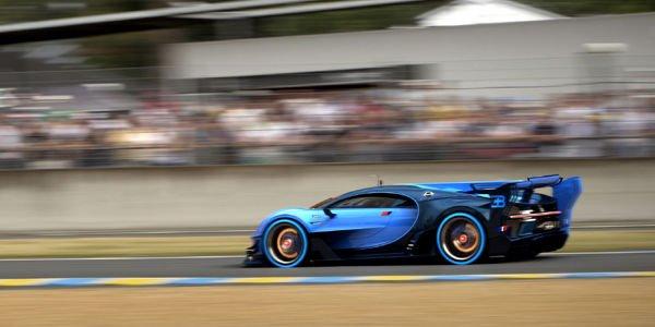 La Bugatti Vision GT en mode Le Mans