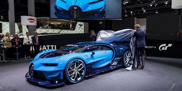 Bugatti Vision GT : le son du W16