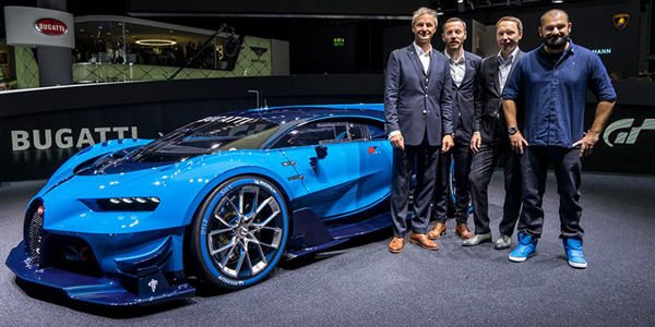 Bugatti Vision GT : le making-of
