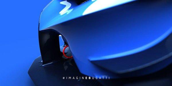 Bugatti Vision GT : nouveaux teasers