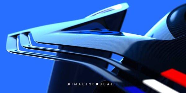 Nouveau teaser pour la Bugatti Vision GT