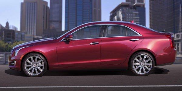 Cadillac lance l'ATS à Détroit