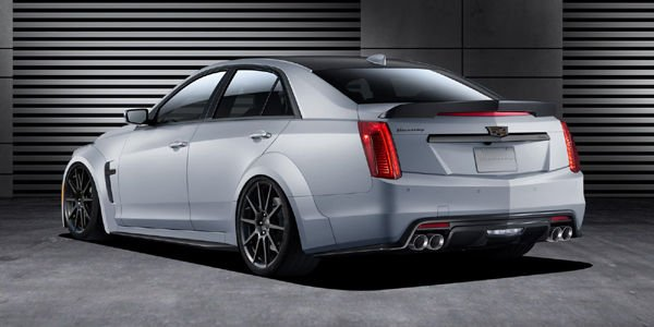 Cadillac CTS-V par Hennessey Performance