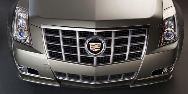 Retouches pour la Cadillac CTS