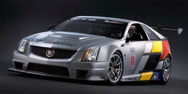 Cadillac CTS-V Race Car en photos