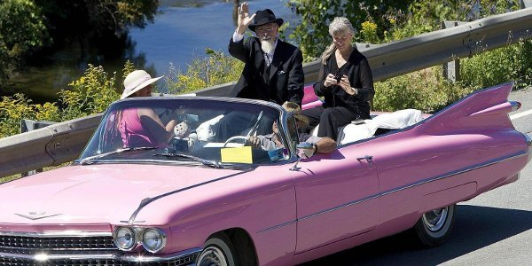 Cadillac en parade