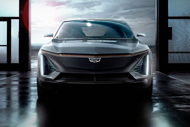 Detroit : Cadillac présente son futur SUV électrique