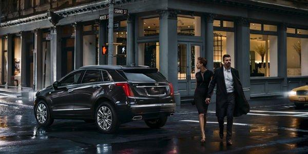 Cadillac dévoile son Crossover XT5 à Dubaï
