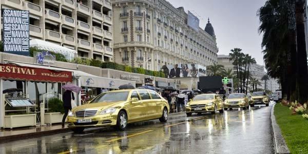Festival de Cannes : Mercedes bling-bling