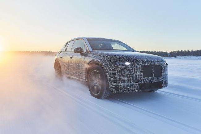 Le BMW iNEXT en essais près de l'Arctique