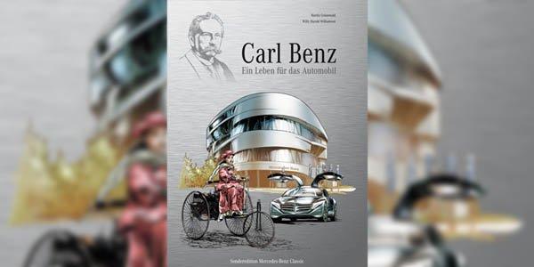 La vie de Carl Benz en bande dessinée