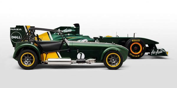 Team Lotus rachète Caterham