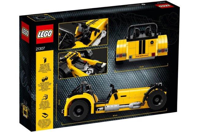 La Caterham Seven 620R arrive chez Lego