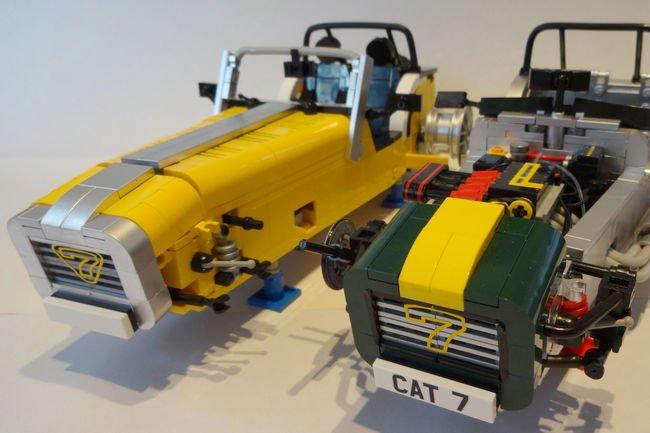 La Caterham Super Seven bientôt dans la gamme LEGO