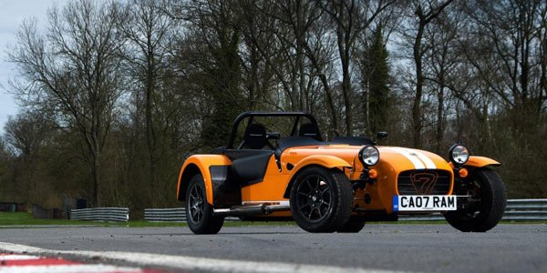 La Caterham Seven en Supersport