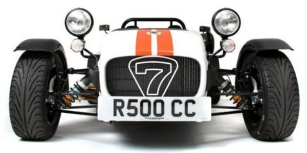 Un tour en Caterham R500 à Dijon Prenois