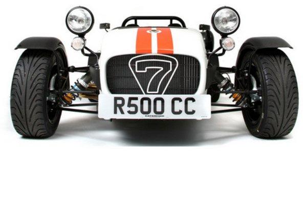 La Caterham R500 du Stig à la retraite