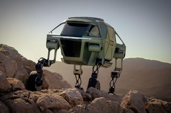 CES : concept Hyundai Elevate