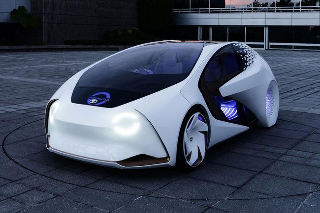 CES : Toyota Concept-i
