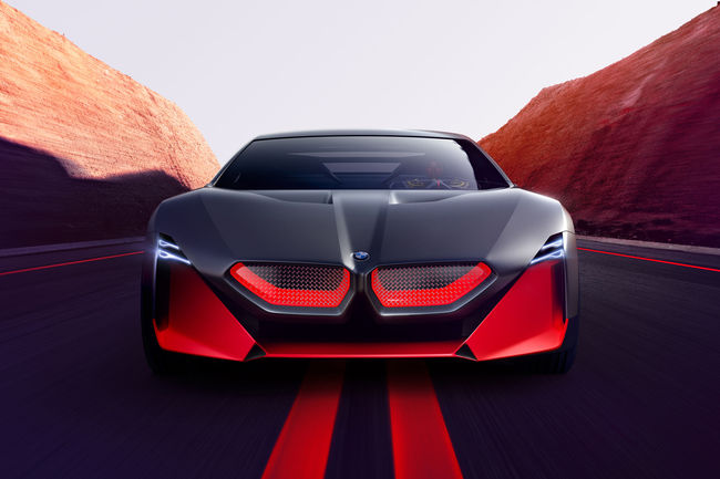 Le concept BMW Vision M NEXT à Chantilly