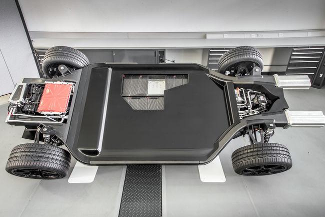 Williams présente sa plateforme de véhicule électrique