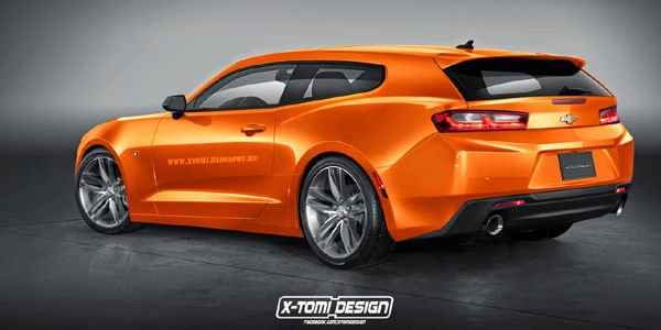 La Chevrolet Camaro revue par X-Tomi Design