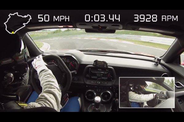 La Chevrolet Camaro ZL1 en 7'29 sur le Ring